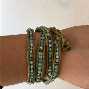 Jewelry - Turquoise Four Wrap Bracelet